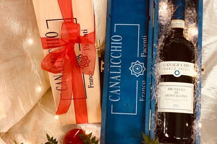 Confezioni regalo: a Natale il brindisi è con Franco Pacenti