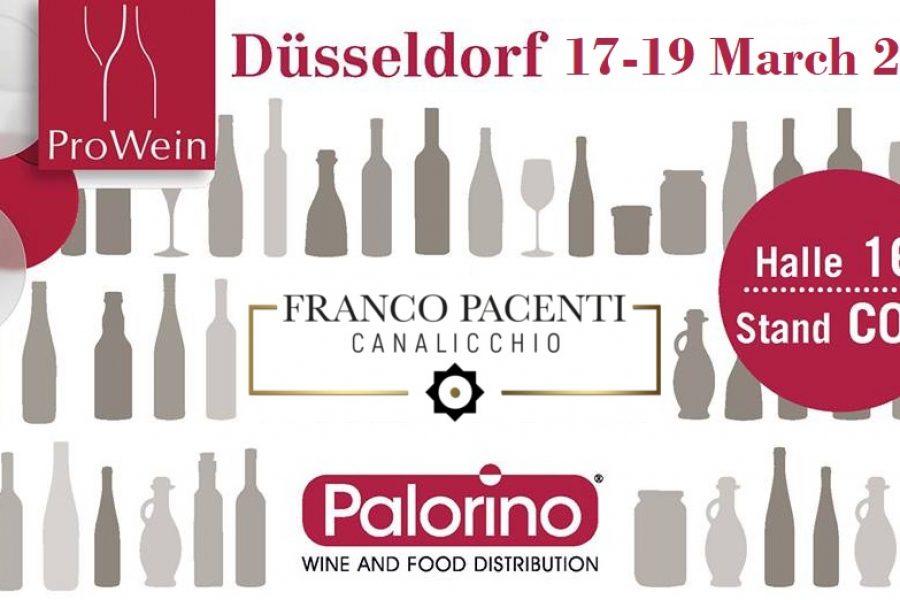 Franco Pacenti – Canalicchio a Prowein 2019 per la 25esima edizione