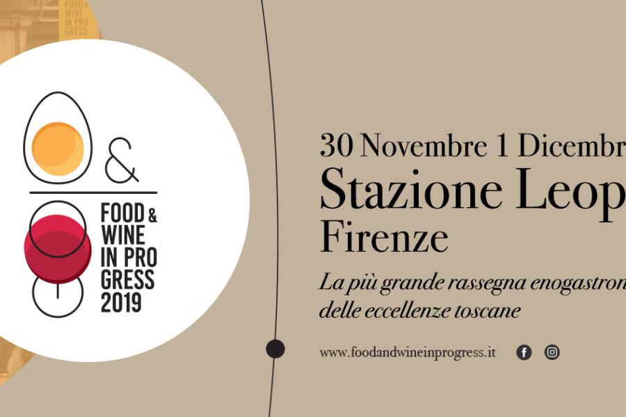 Food & Wine in progress at Stazione Leopolda in Florence, November 30th – December 1st 2019