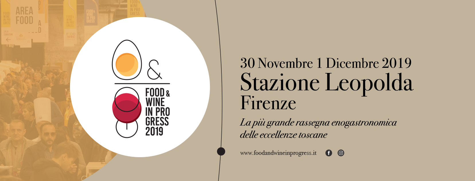 Food & Wine in progress alla Stazione Leopolda di Firenze, 30 novembre – 1 dicembre 2019