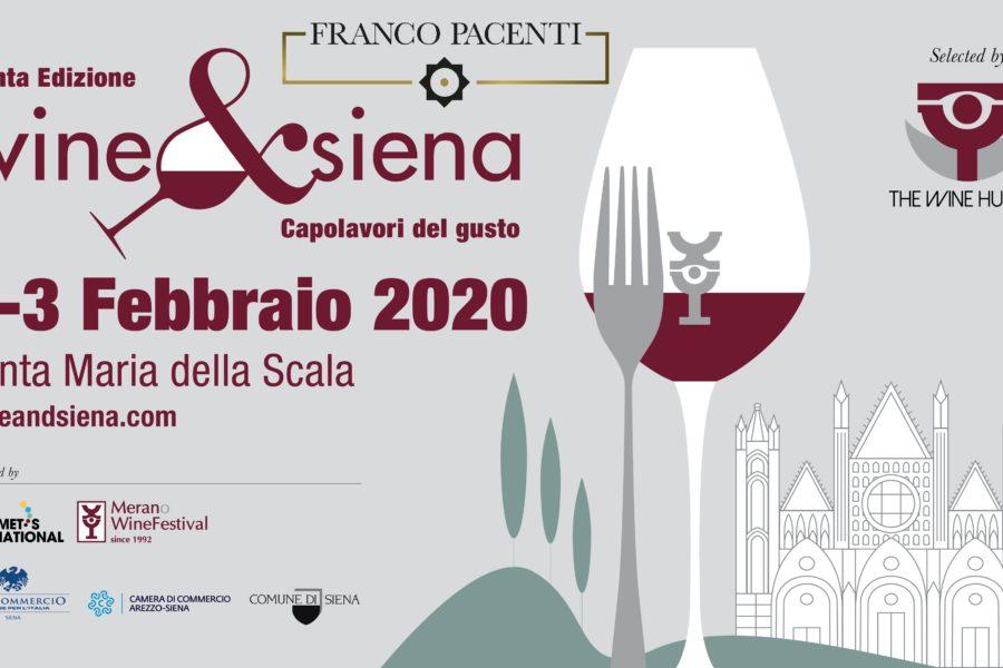 Wine & Siena 2020, 1 – 3 Febbraio