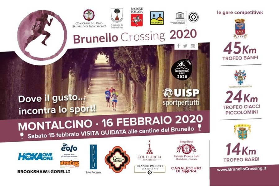 Brunello Crossing 2020, al via la quarta edizione a Montalcino